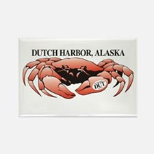 Dutch Harbor King Crab Rectangle Magnet