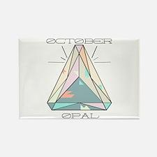 October Opal Magnets