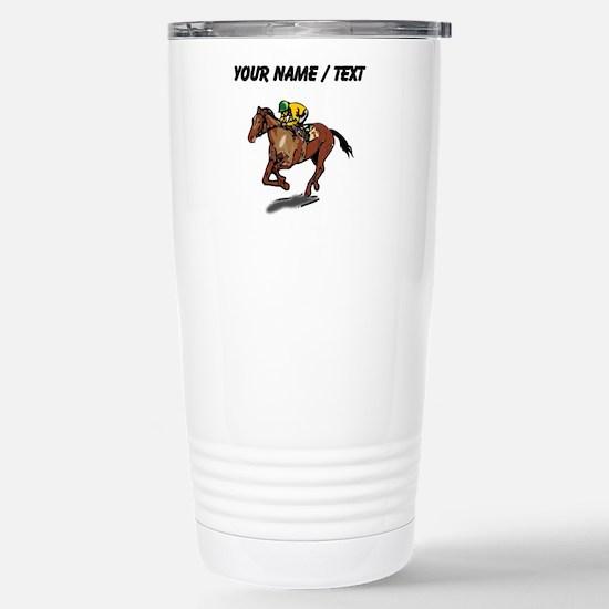 Custom Race Horse Mugs