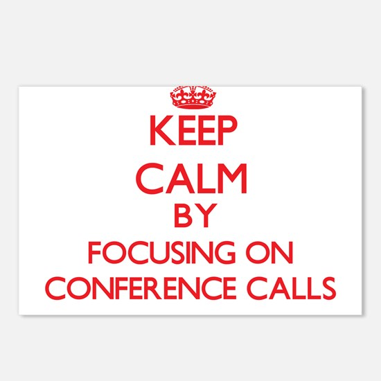 Conference Calls Postcards (Package of 8)
