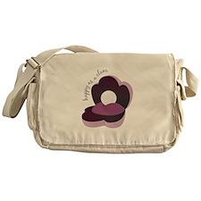 Happy As Clam Messenger Bag