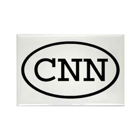 CNN Oval Rectangle Magnet