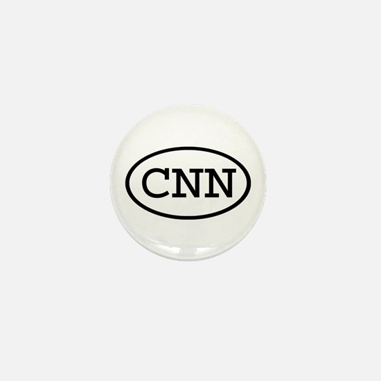 CNN Oval Mini Button