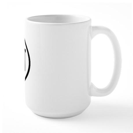 CNN Oval Large Mug