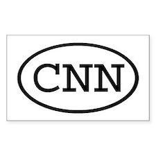 CNN Oval Rectangle Decal