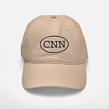CNN Oval Baseball Baseball Cap
