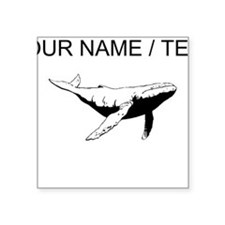 Custom Humpback Whale Sticker