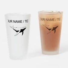 Custom Humpback Whale Drinking Glass
