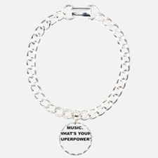 I TEACH MUSIC WHATS YOUR SUPERPOWER Bracelet