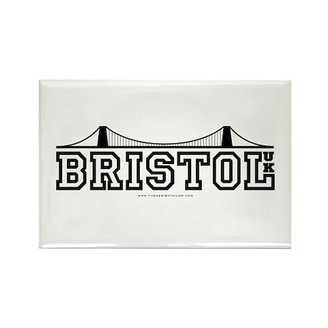 bristol Rectangle Magnet (100 pack)