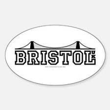 bristol Oval Decal