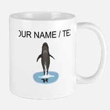 Custom Pilot Whale Jumping Mugs