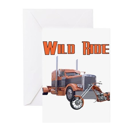 Wild Ride Greeting Cards (Pk of 10)