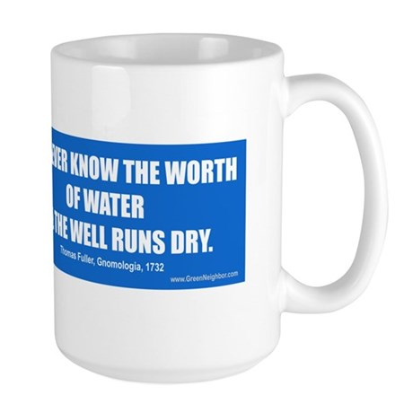 Water Conservation Large Mug