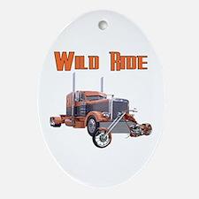 Wild Ride Oval Ornament