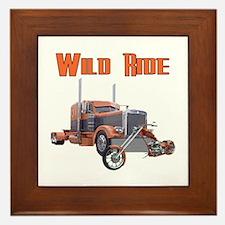 Wild Ride Framed Tile