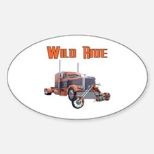 Wild Ride Oval Decal