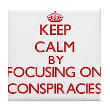 Conspiracies Tile Coaster