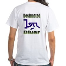 40-oz Designated Diver - Shirt