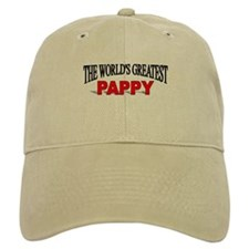 """The World's Greatest Pappy"" Baseball Cap"