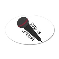 Stand Up Comedian Wall Decal