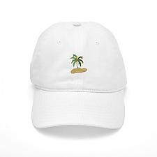 Tropical Christmas Baseball Baseball Cap