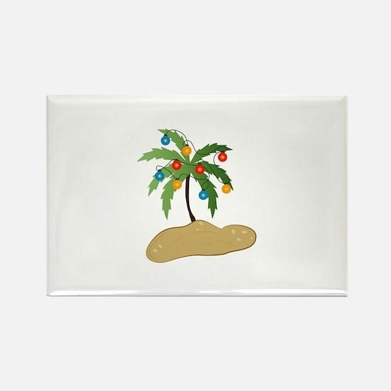 Tropical Christmas Magnets