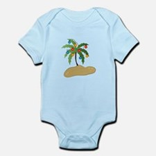 Tropical Christmas Body Suit