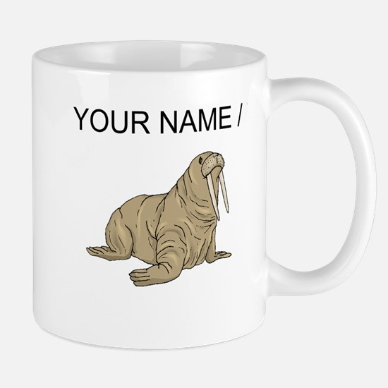 Custom Brown Walrus Mugs