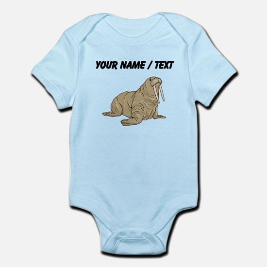 Custom Brown Walrus Body Suit