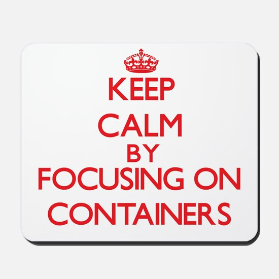 Containers Mousepad
