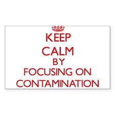 Contamination Decal