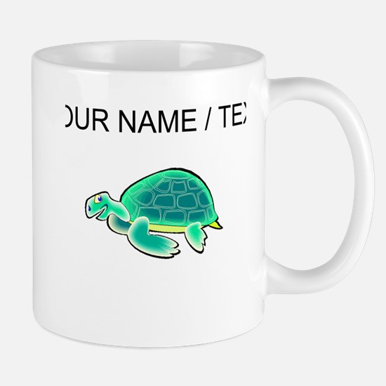 Custom Cartoon Turtle Mugs