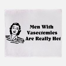 Men With Vasectomies Throw Blanket