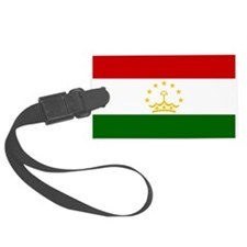 Tajikistan Flag Luggage Tag