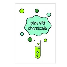 I Play with Chemicals Postcards (Package of 8)
