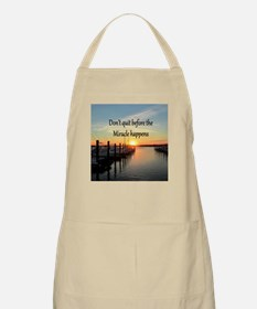 LOVE MIRACLES Apron