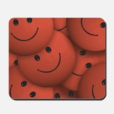 Smile orange Mousepad