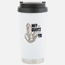 Quartz Be With You Travel Mug