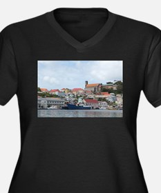 St. George's Harbor Plus Size T-Shirt