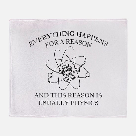 Everything Happens For A Reason Stadium Blanket