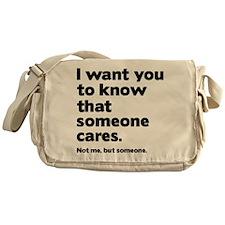 Someone Cares Messenger Bag