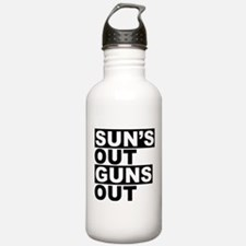 Sun's Out Guns Out Water Bottle