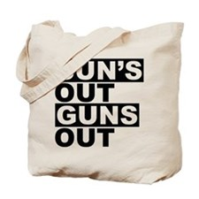 Sun's Out Guns Out Tote Bag