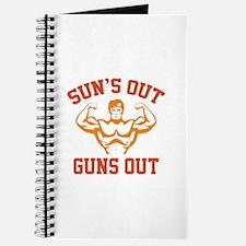 Sun's Out Guns Out Journal