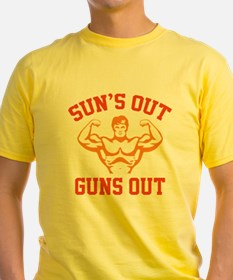 Sun's Out Guns Out T