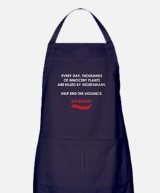 Help End The Violence Apron (dark)