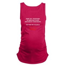Help End The Violence Maternity Tank Top