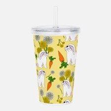 Bunnies and Rabbit Foo Acrylic Double-wall Tumbler