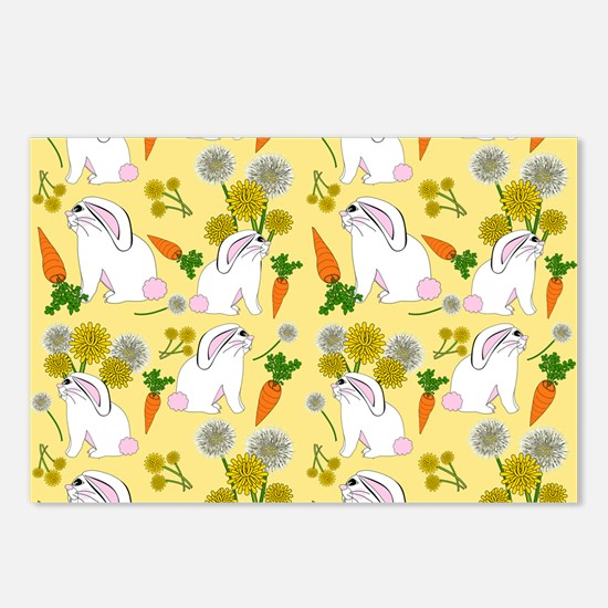 Bunnies and Rabbit Food Postcards (Package of 8)